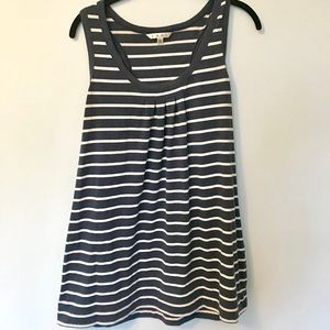 Navy and White XL CAbi racerback tank top